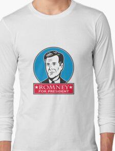 Mitt Romney For American President Long Sleeve T-Shirt