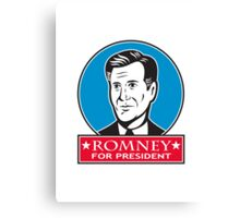 Mitt Romney For American President Canvas Print