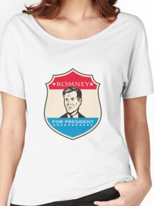 Mitt Romney For American President Shield Women's Relaxed Fit T-Shirt