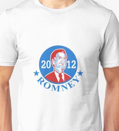 Mitt Romney For American President 2012 Unisex T-Shirt