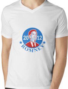 Mitt Romney For American President 2012 Mens V-Neck T-Shirt
