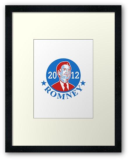 Mitt Romney For American President 2012 by patrimonio