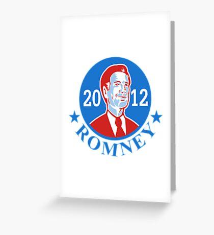 Mitt Romney For American President 2012 Greeting Card