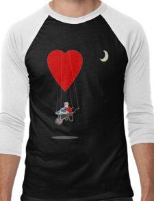 floating away  Men's Baseball ¾ T-Shirt