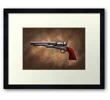 Gun - Model 1860 Colt Army Revolver Framed Print