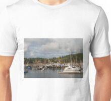 Friday Harbor in Fall Unisex T-Shirt