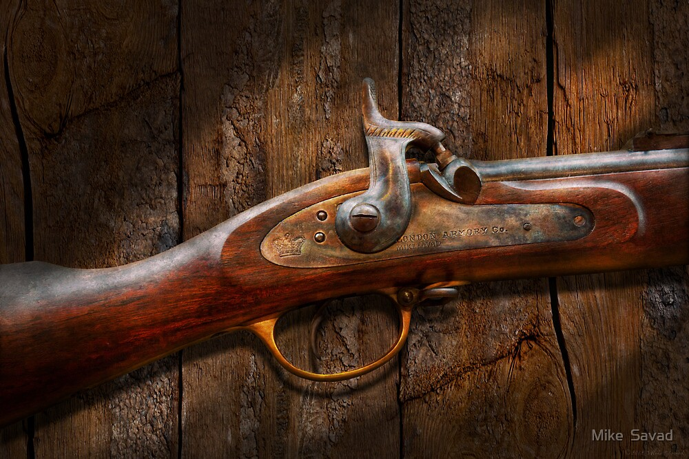 Gun - Musket - London Armory  by Mike  Savad