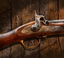 Gun - Musket - London Armory  by Mike  Savad