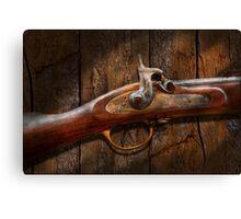 Gun - Musket - London Armory  Canvas Print