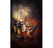 Gun - The adventures code  Photographic Print