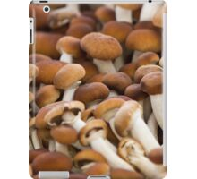 honey mushrooms iPad Case/Skin