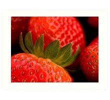 Berry yummy Art Print