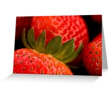Berry yummy Greeting Card