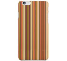 Doctor Who - Fourth Doctor's scarf pattern iPhone Case/Skin