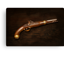 Gun - US Pistol Model 1842 Canvas Print