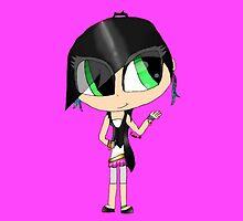 PINK Girly Girl Abbey by SpottiClogg