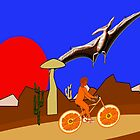 A Pterodactyl and an Orange Bicycle by Dennis Melling