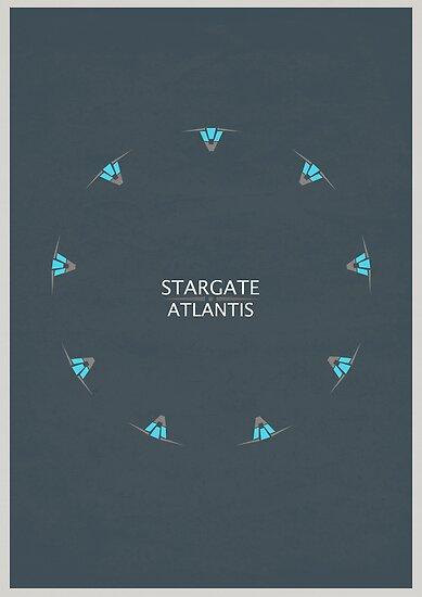 Stargate Atlantis by Owen  Cheshire