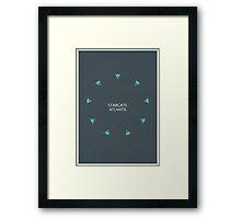 Stargate Atlantis Framed Print