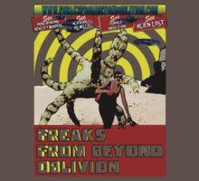 Freaks From Beyond Oblivion Alien Green Baby Tee