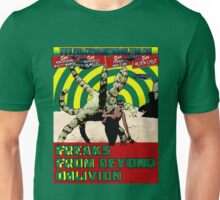 Freaks From Beyond Oblivion Alien Green Unisex T-Shirt