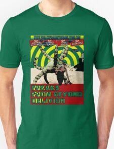 Freaks From Beyond Oblivion Alien Green T-Shirt