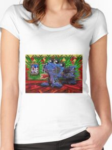 Becoming the Art Critic Women's Fitted Scoop T-Shirt