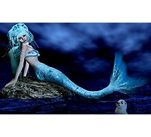 Mermaid fantasy in 3D Photographic Print