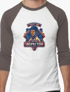 Trust The Inspector Men's Baseball ¾ T-Shirt