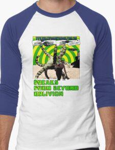 Freaks From Beyond Oblivion Alien Red Men's Baseball ¾ T-Shirt