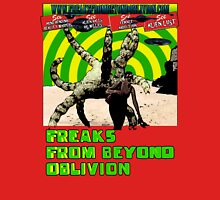 Freaks From Beyond Oblivion Alien Red Unisex T-Shirt