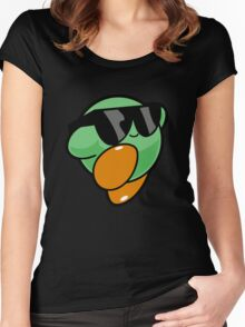 JUST COOL Women's Fitted Scoop T-Shirt