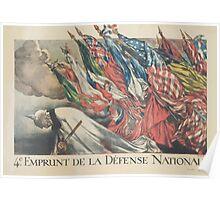 4e Emprunt de la Défense Nationale Poster