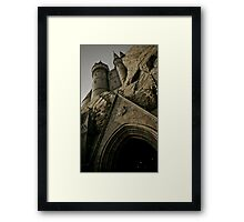 Welcome To The Hogwarts School of Witchcraft and Wizardry Framed Print