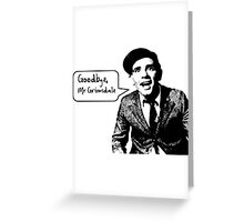 The Words of Wisdom Greeting Card
