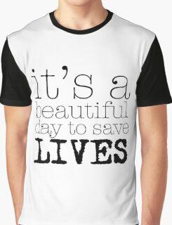 Beautiful day (white) Graphic T-Shirt