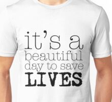 Beautiful day (white) Unisex T-Shirt
