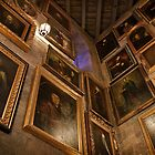 Hogwarts Castle: Wall of Talking Portraits by Scott Smith