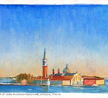 Isola di San Giorgio, Venice, Italy by Dai Wynn
