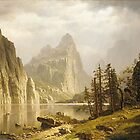 Bierstadt Albert Merced River Yosemite Valley by naturematters
