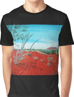 From a Distance, Australia Graphic T-Shirt