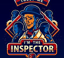 Trust The Inspector - POSTER by WinterArtwork