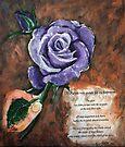 Purple Rose by Elisabeth Dubois