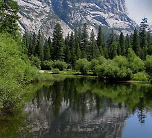 El Capitan and Mirror Lake by Raymond Cooper