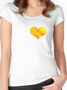 Heart of Gold Women's Fitted Scoop T-Shirt