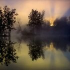 Foggy Sunrise by kcy011