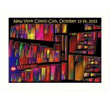 The New York Comic-Con 2012 Neighborhood Redux Art Print