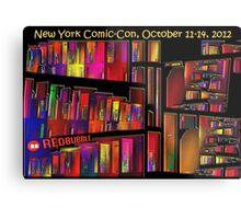 The New York Comic-Con 2012 Neighborhood Redux Metal Print