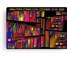 The New York Comic-Con 2012 Neighborhood Redux Canvas Print