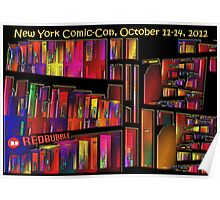 The New York Comic-Con 2012 Neighborhood Redux Poster